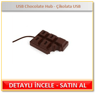 USB Chocolate Hub - Çikolata USB