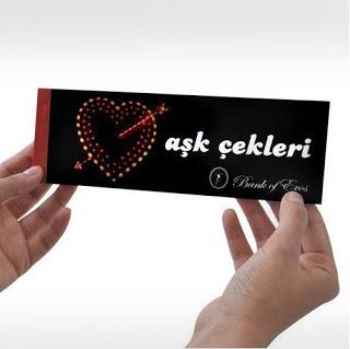 Aşk Çeki Defteri
