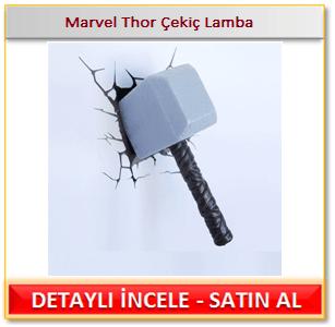 Marvel Thor Çekiç Lamba