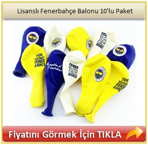 Lisanslı Fenerbahçe Balonu 10'lu Paket