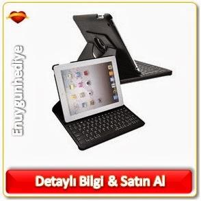 iPad Mini Bluetooth Klavyeli Kılıf