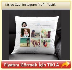 Kişiye Özel Instagram Profili Yastık
