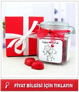 En Tatlı Aşıklar Çikolata Kavanozu