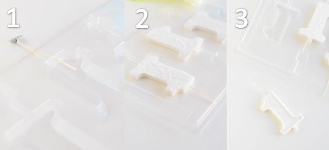 el yapımı pasta mumları