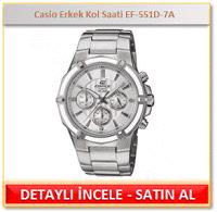 Casio Erkek Kol Saati EF-551D-7A