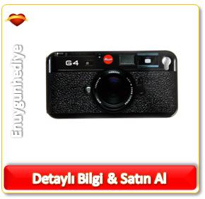 G4 Fotoğraf Makinesi iPhone 4 Kılıfı