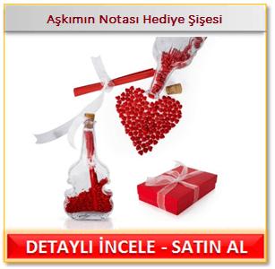 Sevgiliye romantik hediye sepeti