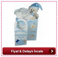 yeni doğan oğlan bebeğe hediye