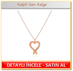 My name is Kalpli İsim Kolye