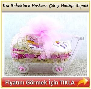 kız bebekler için hediye sepeti