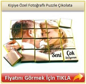 Kişiye Özel Fotoğraflı Puzzle Çikolata
