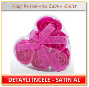 Kalp Kutusunda Sabun Güller