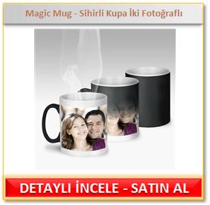 İki Fotoğraflı-Sihirli Çay & Kahve Kupası