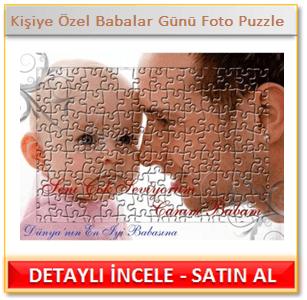 Kişiye Özel Babalar Günü Foto Puzzle