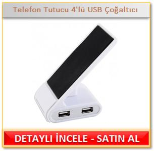 Telefon Tutucu 4'lü USB Çoğaltıcı