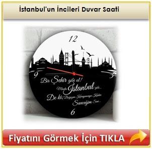 İstanbul'un İncileri Duvar Saati