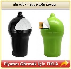 Bin Mr. P - Bay P Çöp Kovası