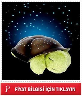 Müzikli ve Işıklı Kaplumbağa