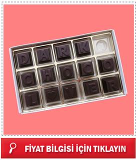 el yapımı mesajlı çikolatalar