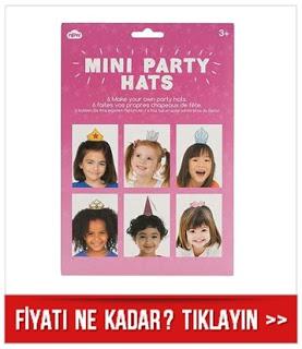 Mini Parti Şapkaları