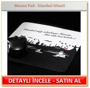 İstanbul Silueti Mouse Pad