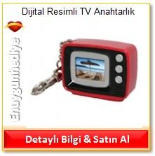 Dijital Resimli TV Anahtarlık