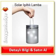 Solar Işıltılı Lamba