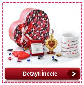 Sevgiliye özel hediyeler