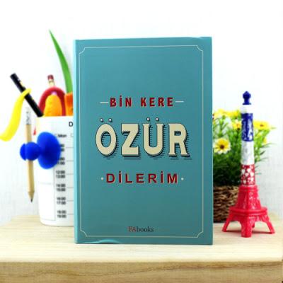 Bin Kere Özür Dilerim Kitabı