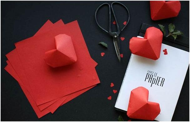 Origigami 3D Kalpler