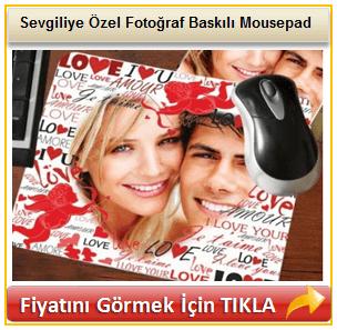 Sevgiliye Özel Fotoğraf Baskılı Mousepad