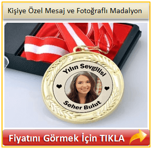 öğretmene özel madalyon
