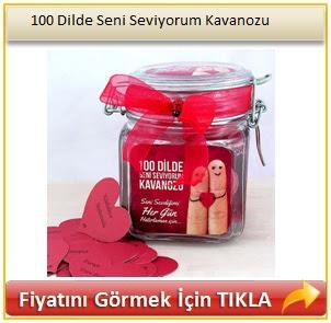 100 Dilde Seni Seviyorum Kavanozu