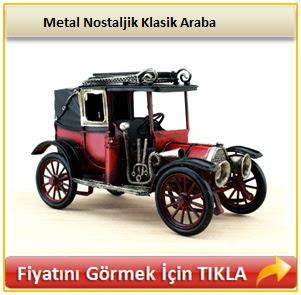 Metal Nostaljik Klasik Araba