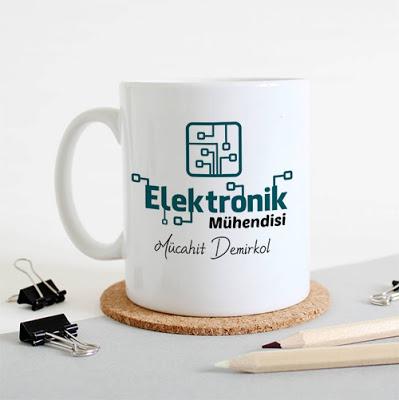Elektronik Mühendislerine Özel Kupa Bardak