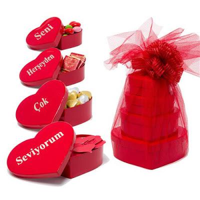 sevgililer günü hediye sepeti