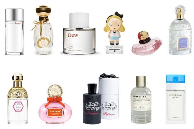 kadına parfüm