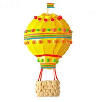 Balon Tasarımlı Doğum Günü Pastası