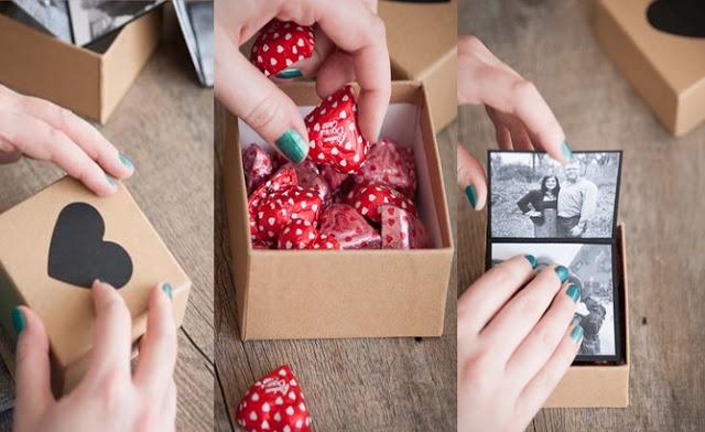 el yapımı romantik hediyeler