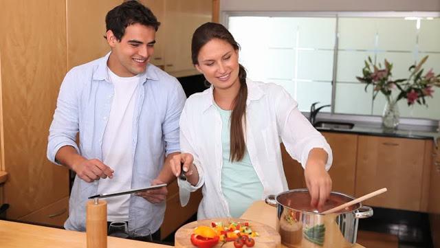 sevgilinizle yemek yapın