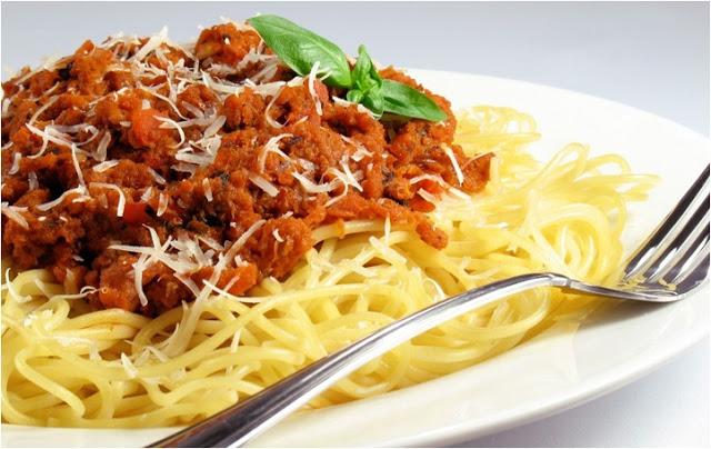 Spagetti bolonez makarna